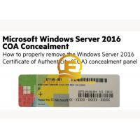 China OEM Computer System Softwares , Microsoft Server 2016 Standard DVD 32 64 Bit Sticker on sale