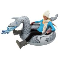 Buy cheap Ice Dragon Winter Inflatable Snow Tube PVC Ultimate Sled Skiing Matrris from wholesalers