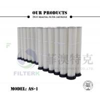 Buy cheap PTFE PU Molded Pleated Filter Bags , 153 * 2000mm Dust Extractor Filter Bags from wholesalers