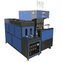 Buy cheap ISO 2000bph Blowing Mould Machine Semi Automatic PET Bottle Blowing Machine from wholesalers