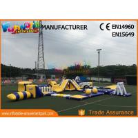 Wholesale Anti - UV Giant Aquapark Inflatable Water Parks For Kids And Adults from china suppliers