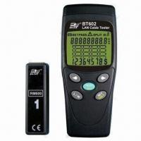 Buy cheap Multifunction LAN Cable Tester with Mapping Check and Length Measurement from wholesalers
