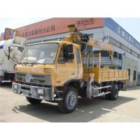 Wholesale HOT SALE! 190hp euro3 right hand drive 8 ton dongfeng boom crane truck for sale, 8tons telescopic truck with crane from china suppliers