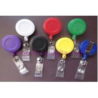 Buy cheap Plastic Retractable Badge Reel, Badge Holder from wholesalers