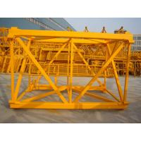 Buy cheap Stone Bolt Fixing Type Tower Crane For Power Stations TC6013-6 from wholesalers