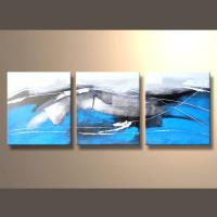 Buy cheap Hand-painted Modern Abstract Painting On Canvas from wholesalers