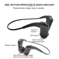 Buy cheap Waterproof Protecting HD Stereo Hearing Recovery Wrieless Bone Conduction Headphone with bone phone headphones from wholesalers