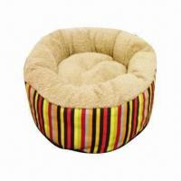 Buy cheap Deluxe cube pet bed, made of soft denim and quilted fleece, for the nest loving product
