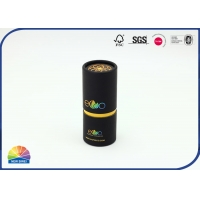 Buy cheap Spot Uv Lid Paper Packaging Round Container Soft Touch Lamination from wholesalers