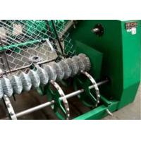 Buy cheap High Efficiency Fully - Auto Wire Mesh Machine , Chain Link Fence Making Machine from wholesalers