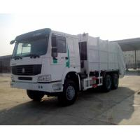Wholesale 6x4 371hp 16CBM 18CBM Special Purpose Vehicle Rear Loading Compactor Garbage Truck With 1.2cbm Rubbish Bin from china suppliers
