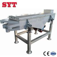 Buy cheap High Quality Soya Bean Cocoa Linear Vibrating Screen Sieve machine from wholesalers