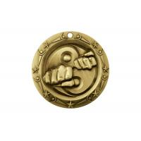 Buy cheap Competitions Badges Custom Award Medals For Meeting CMYK Printed Logo from wholesalers