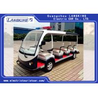 Buy cheap 11 Seater 72V/5.5KW Electric Patrol Car Utility Electric Vehicle With Big Light On Top from wholesalers