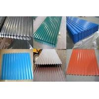 Buy cheap Roofing material Corrugated steel sheet plate in all kins of colours from wholesalers