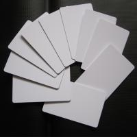 Wholesale Directly Printing Inkjet PVC Card White Color Buiness ID Card Printable from china suppliers