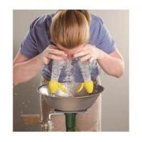 Buy cheap School Lab Safety Shower And Eyewash Station With Hand Placement from wholesalers