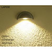 Black design IP65 waterproof 3W COB outdoor LED wall light for shipping mall Manufactures