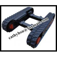 Buy cheap Can be customized Size undercarriage/rubber track chassis from manufacturer from wholesalers