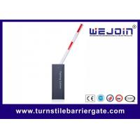 Buy cheap High Speed Parking Boom Barrier Gate 304 Stainless Steel With RFID Card Reader from wholesalers