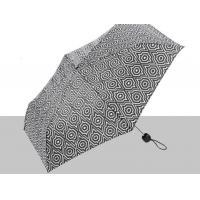 Buy cheap 21 Inch Folding Manual Open Umbrella Printed Pattern Plastic Cap / Tips product