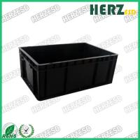 Buy cheap Dust Proof Non Toxic ESD Tote Boxes , ESD Plastic Bins For Electronic Workshop from wholesalers