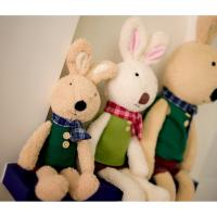 China Long eared rabbits 30CM plush toys , Holiday stuffed Toys for kids / babies on sale