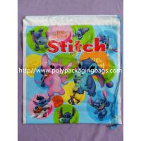 Wholesale Fashionable Small Plastic Gift Bags Customizable Drawstring Backpack from china suppliers