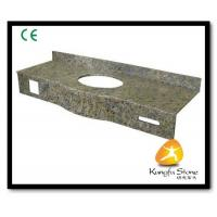 Xiamen Kungfu Stone Ltd supply Bathroom Natural Granite Countertops In High quality and cheap price Manufactures