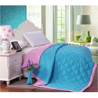 Buy cheap Filling Colorful Double Face Binding Microfiber Quilt Set Comforter For Summer from wholesalers