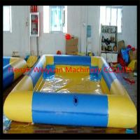 Buy cheap Colorful portable pvc inflatable baby& adults swimming pool from wholesalers