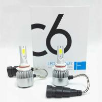 Wholesale LED Headlight Bulbs JALN7 C6 LED Conversion Kits Extremely Super Bright H1/H4/H7/H11/9005/9006 36W 3960lm from china suppliers
