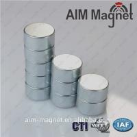Buy cheap Powerful Magnetic Cylindrical Zn Neodymium Magnet N42 from wholesalers