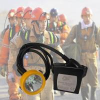 15000lux Waterproof Kl5lm Rechargeable Mining Hard Hat LED Lights Manufactures