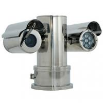 100m IR PTZ CCTV Camera for Mining or Petrol Station Monitoring , Explosion Proof Cameras