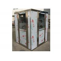 Buy cheap Single Person Automatic Cleanroom Air Shower Omron Infrared Sensors from wholesalers