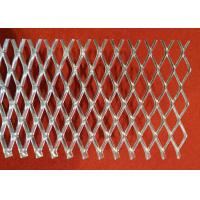Buy cheap 0 . 3 mm - 2 . 0 mm Thickness Flattened Expanded Metal Mesh With Power Coated from wholesalers