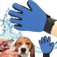 Buy cheap Pet Grooming Glove For Cats Hair Brush Comb Dog Cleaning Massage Glove Animal Deshedding Gloves Effcient Bath Silicone C from wholesalers