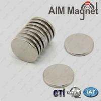 Buy cheap Strong power small neodymium disc magnet for wholesales price from wholesalers