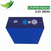 Buy cheap 3.2V 280AH Lifepo4 Battery Deep Cycle Battery Lithium Iron Camping RV Batteries from wholesalers