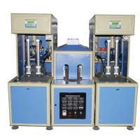China 4 cavity Semi-automatic bottle Blow Molding Machine make  PET plastic containers for water on sale