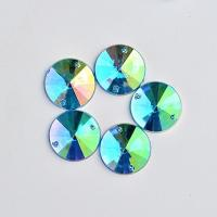 Buy cheap Extremely Shiny  On Stones , 14  Facets  On Glass Rhinestones from wholesalers