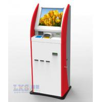Buy cheap Multifunction Self Service Kiosk 19 TFT Touchscreen With Secure Pin Pad from wholesalers