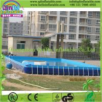 Buy cheap Above Ground Frame Swimming Pool PVC Swimming Pool for Water Park from wholesalers