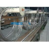 Quality TP304 9.53 x 0.71 x 172000 mm Coiled Stainless Tubing Mesh Belt Furnace Annealing for sale