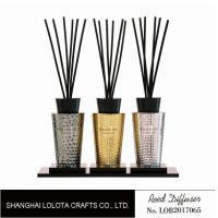 Wholesale Luxury Room Aromatherapy Reed Diffuser With Black Top Cover , Screen Printing from china suppliers
