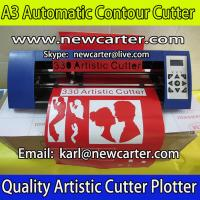 Buy cheap A3 Contour Cutting Plotter Silhouette Cameo Graphtec Protrait ARM Vinyl Cutter 330 Contour from wholesalers