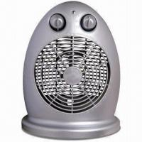 Buy cheap Fan Heater with Adjustable Thermostat, Automatic Control Temperature from wholesalers