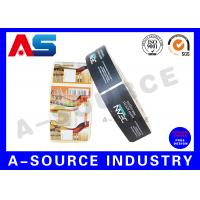 Buy cheap Hologram Rolled Customized E Liquid Labels For e Cig Juice Bottles With Different Flavors from wholesalers