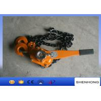 Buy cheap Cable Pulling Tools Hand Chain Hoist / 3 Ton Level Chain Hoist Block from wholesalers